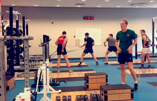 University Rugby Team Performance Training
